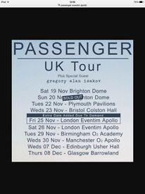Passenger Seated Ticket November 25th