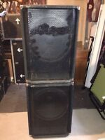 "18"" pulse (yorkville) passive subwoofers"