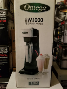 100% BRAND NEW OMEGA M1000  DRINK MIXER