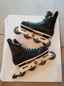 Skate boot rollerblades