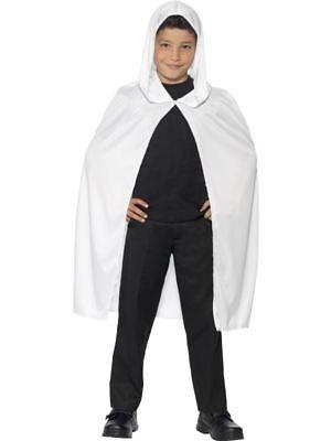 apuze Cape Mantel Robe Halloween Kostüm Kleid Outfit (Weißer Halloween Robe)