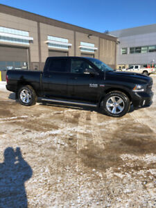 RESERVE BID - 2017 Dodge Ram Sport - Low KMs