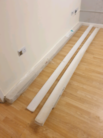 Coving (plasterboard) 1 unopened pack 5x 3m lengths and afew offcuts