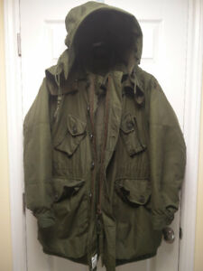 Canadian Military Winter Parka in great condition!