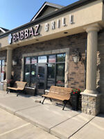 BABBAZ GRILL , WINDSOR . Business for sale .