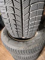 ** 215/60R16 *Winter-Tires-Michelin *X-ICE XI3 *Rims 95% Tread!