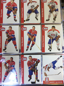 160+ Montreal Canadiens Hockey Cards - Newer & Older STARS