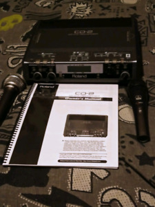 Roland  cd_2 cf/cd recorder compact flash