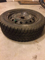 4 Great condition 23 inch winter tires mounted on 16 inch rims