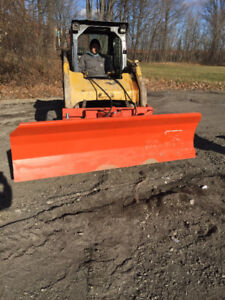 84 inch snow plow for skidsteer