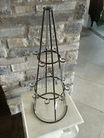 Test Tube Rod iron Centrepieces