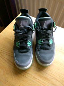 Jordan 4 (IV) Retro Green Glow