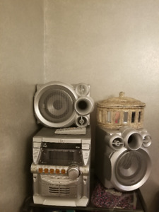 JVC CD Player with remote
