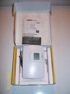 THERMOSTAT  ÈLECTRONIC 220 VOLTS   UBERHAUS  TH616  $12.00