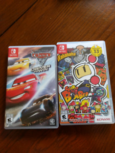 2 Nintendo switch games for sale