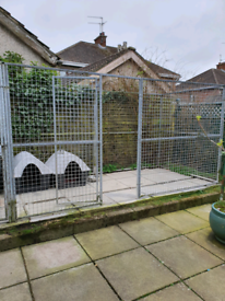 SOLD Galvanised Dog Run (used)SOLD