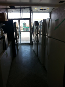 FRIDGES STOVES ALL KINDS AND SIZES OVERSTOCK