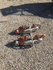 Stihl concrete saws