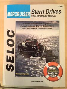 Stern drive mercruiser