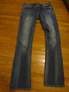Women's Miss Me jeans flare size 28 long