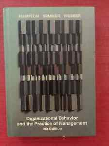 Organizational Behavior and the Practice of Management.