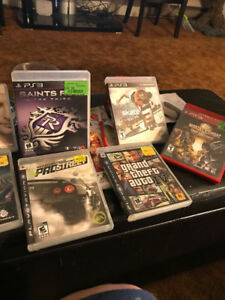 PS3 GAMES VERY GOOD CONDITION (9)
