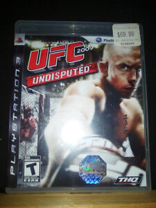 Playstation 3 games - Tekken 6 and UFC Undisputed London Ontario image 1