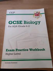 CGP GCSE Biology Exam Practice Workbook Higher Level