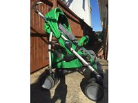 Chicco Multiway Evo Stroller - Wasabi, Includes Raincover & Footmuff