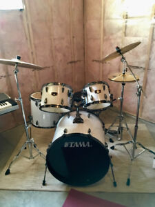 Tama Imperialstar 5-Piece Drum Kit with Hardware and Cymbals