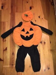 Costume d'halloween (citrouille)
