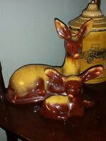 BMP harvest gold doe and fawn set
