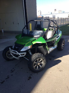 Green Arctic Cat Wild Cat 1000
