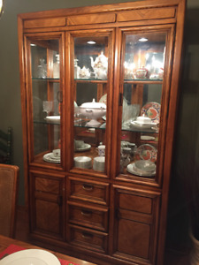 Price Reduced - Hutch/Display Case