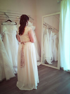 Robe de mariée style champêtre ou robe de bal