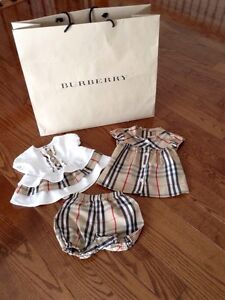 Baby Burberry (girl) outfit...3 months
