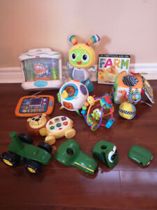 Assorted toddler toys