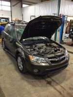 Parting out 2008 Subaru Legacy outback