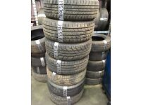 Part worn tyres like new fully fitted from £10