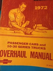 70's camaro, nova, chevelle, gmc/ chevy truck shop manuals