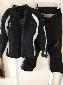 RST armoured jacket and trousers - UK 12-14