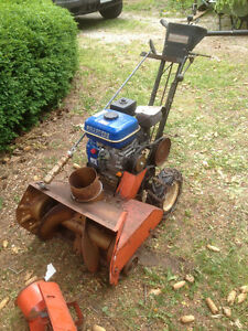 Older Eatons Snowblower Newer engine