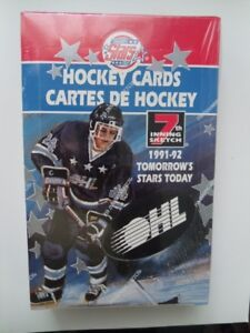 1991-92-7th Inning Sketch-OHL Factory Sealed Hockey Box.