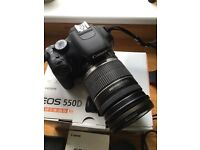 Canon EOS 550D DSLR with a Canon EF-S18-200 f/3.5-5.6 Lens