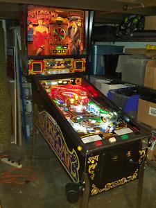 Riverboat Gambler Pinball Machine for Sale