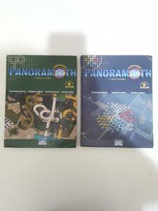 Panoramath mathématique manuel B volume 1 et 2 pour secondaire 2