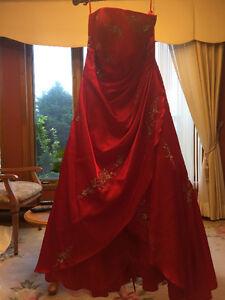 La plus belle robe!