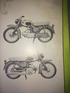 1967 Honda 90 C201 Parts Book Regina Regina Area image 2
