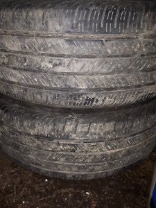 215/55/17 Continental tires 3 tires 0nly