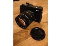 Fuji X-E1 mirrorless compact system digital camera